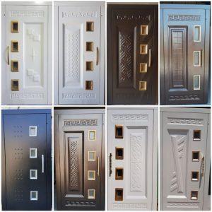 انواع درب لولایی آسانسور رامان