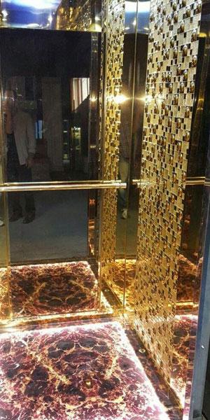 کابین آسانسور رامان مدل کلاسیک