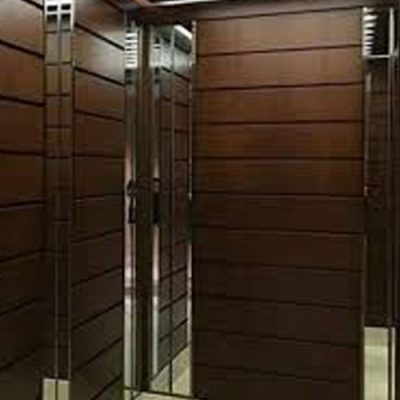 کابین آسانسور رامان مدل چوبی
