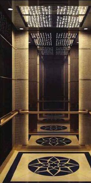 کابین آسانسور رامان مدل مدرن