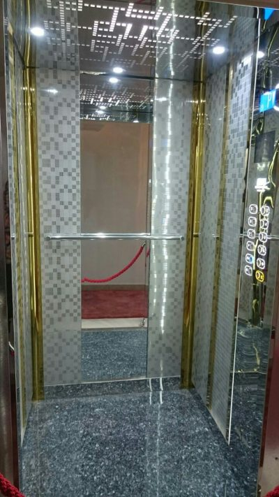 کابین آسانسور رامان مدل براق